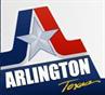 Arlington Animal Services (Arlington, Texas) red and blue logo with a star